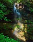 Regenbogenwasserfall Lizenzfreie Stockfotografie