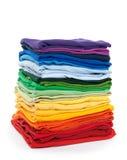 Regenbogenwäscherei Stockfoto