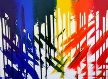 Regenbogenzusammenfassung stockbild