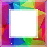 Regenboog abstracte grens Royalty-vrije Stock Foto