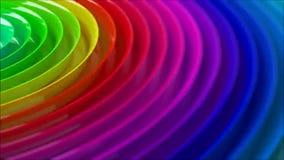 Regenboog colorfull vage achtergrond stock video
