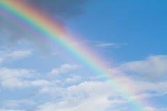 Regenboog in de hemel Stock Fotografie