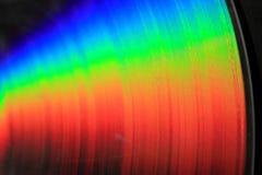 regenboog dvd textuur Royalty-vrije Stock Afbeelding