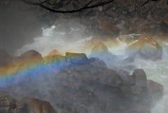 Regenboog en Kreek Royalty-vrije Stock Foto's