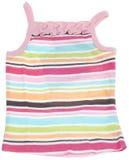 Regenboog Gekleurd Mouwloos onderhemd Stock Afbeeldingen