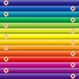 Regenboog gekleurde achtergrond stock illustratie