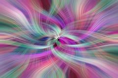 Regenboog gekleurde samenvatting Concepten Goddelijke deugden Stock Afbeeldingen