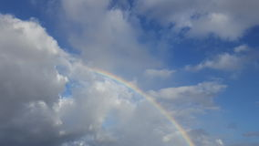 Regenboog in Hawaï royalty-vrije stock afbeelding
