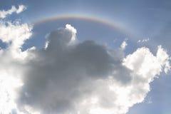 Regenboog in hemel Royalty-vrije Stock Foto