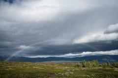 Regenboog in het Noorden Royalty-vrije Stock Foto