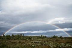 Regenboog in het Noorden Royalty-vrije Stock Foto's