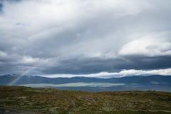 Regenboog in het Noorden Stock Afbeelding