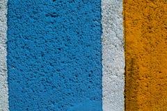Regenboog kleurrijke bakstenen muur Royalty-vrije Stock Foto's
