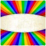 Regenboog oude achtergrond royalty-vrije illustratie