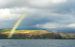 Regenboog over Waimea Royalty-vrije Stock Foto's