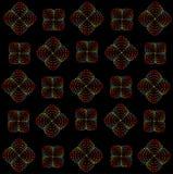 Regenboog spiraalvormig patroon Stock Foto's