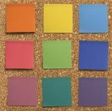 Regenboog stok-het Stock Afbeelding