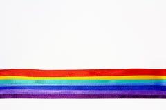 Regenboog van banden Stock Fotografie