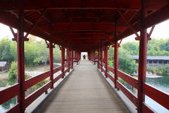 Regenboogbrug Royalty-vrije Stock Foto