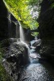 Regenboogbrug en Dalingen Royalty-vrije Stock Foto