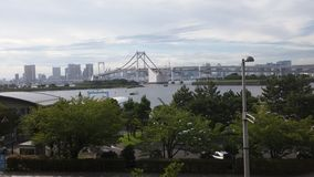 Regenboogbrug Tokyo Royalty-vrije Stock Foto