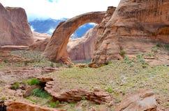 Regenboogbrug in Utah, de V.S. Royalty-vrije Stock Afbeelding