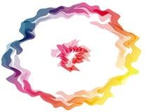 Regenboogcirkel Royalty-vrije Stock Afbeelding