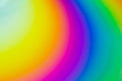 Regenboogcirkels in CD Royalty-vrije Stock Afbeeldingen
