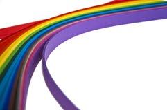 Regenboogdocument Royalty-vrije Stock Afbeelding