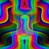 Regenboogkrommen het ineenstrengelen royalty-vrije illustratie