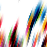 Regenbooglijnen, abstracte achtergrond Stock Foto