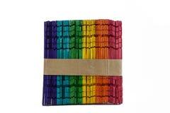 Regenboogstokken Royalty-vrije Stock Afbeelding