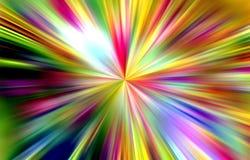 Regenboogtinten, achtergrond in gele roze tinten, abstracte achtergrond, fantasie stock illustratie