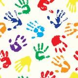 Regenboogvingerafdrukken Royalty-vrije Stock Afbeelding