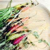 Regenboogwortelen Royalty-vrije Stock Foto's