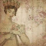 Regency Era - Jane Austen Inspired - Vintage Muted Roses - Digital Paper Background - Roses - Pride & Prejudice. This digital paper background pairs a lovely stock illustration