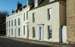 Regency houses Royalty Free Stock Images