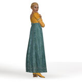 Regency Lady Royalty Free Stock Images