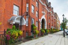 Regency street, cityscape of London Royalty Free Stock Photography