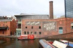 Free Regency Wharf And Gas Street Basin, Birmingham Stock Photo - 155451540