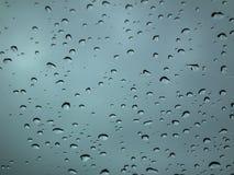 Regendouches over buitenkant Alleen en eenzaam het voelen Stock Foto