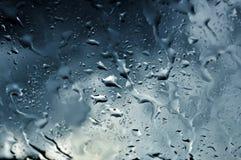 Regendruppels Stock Fotografie