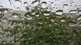 regendruppels stock afbeelding