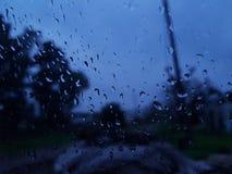 Regenende dag royalty-vrije stock afbeeldingen