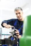 Regeneration of engine parts. Royalty Free Stock Photography