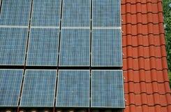 Regenerativ sol- energi Arkivbild