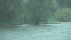 Regenguß. stock footage