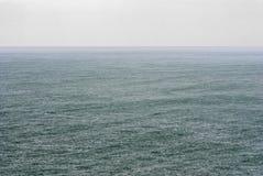 Regenopen zee Stock Afbeelding
