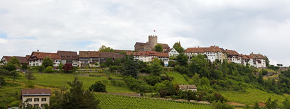 Regensberg castle Royalty Free Stock Image