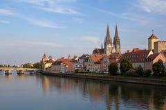 Regensburg в Баварии Стоковое Изображение